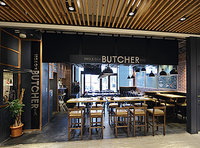 BUTCHER REPUBLIC SHINAGAWA CHICAGO PIZZA&BBQ STEAK
